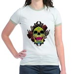 Sugar Skull Jr. Ringer T-Shirt