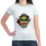 Sugar Skull Jr. Ringer T-Shirt
