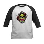 Sugar Skull Kids Baseball Jersey