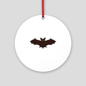 Bat Ornament (Round)