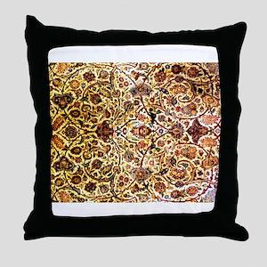 Persian carpet 1 Throw Pillow