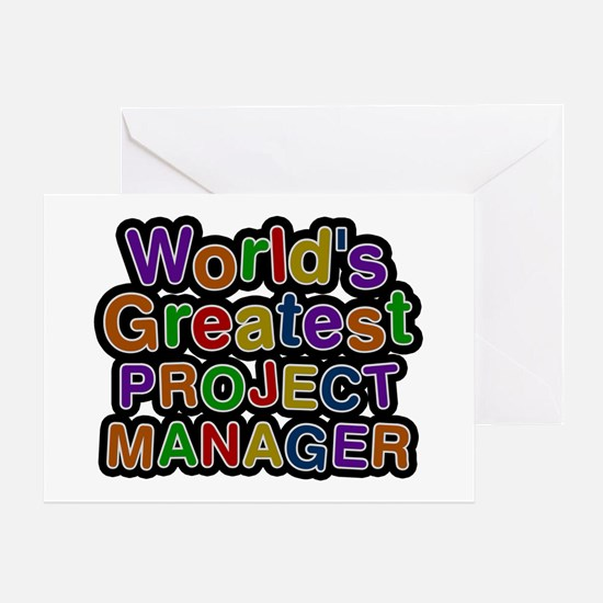 World's Greatest PROJECT MANAGER Greeting Card