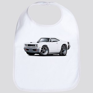 1969 Super Bee White Car Bib