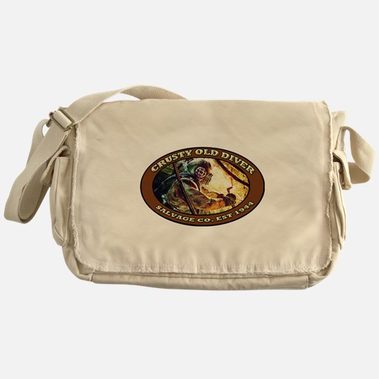 Cute Commercial diving Messenger Bag