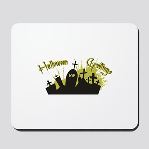 Halloween Greetings Mousepad
