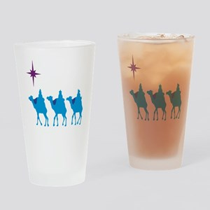 3 Wisemen Drinking Glass