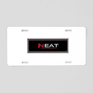 Jmcks Neat Aluminum License Plate