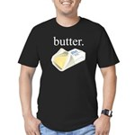 butter. Men's Fitted T-Shirt (dark)