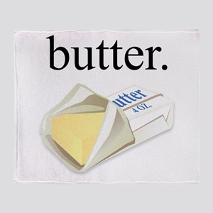 butter. Throw Blanket