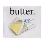 butter. Throw Blanket