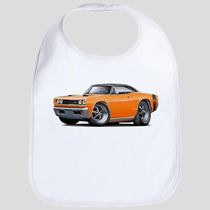 1969 Super Bee Orange-Black Car Bib
