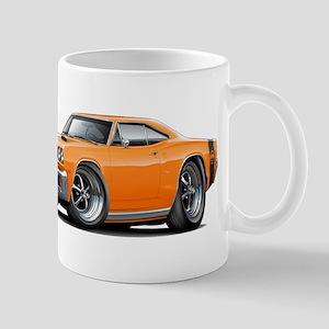 1969 Super Bee Orange Car Mug