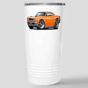 1969 Super Bee Orange Car Stainless Steel Travel M
