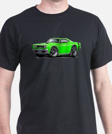 1969 Super Bee Lime Car T-Shirt