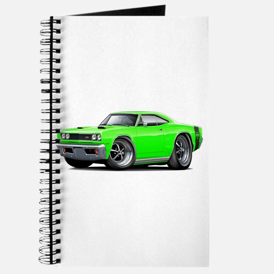 1969 Super Bee Lime Car Journal