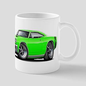1969 Super Bee Lime Car Mug