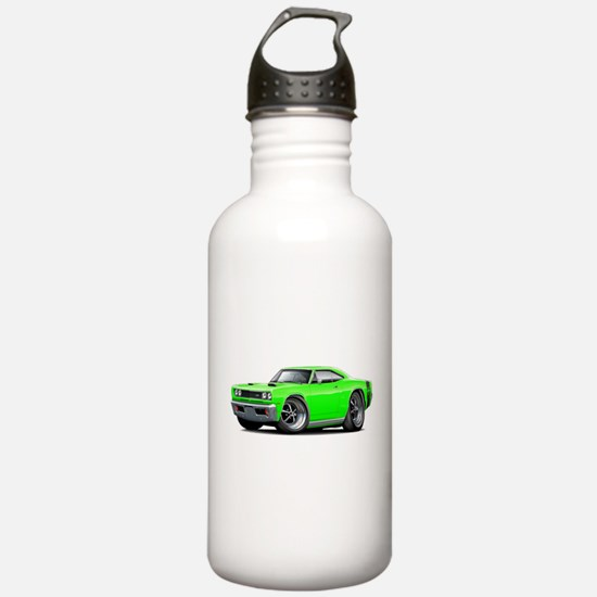 1969 Super Bee Lime Car Water Bottle