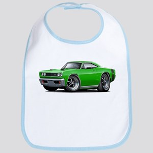 1969 Super Bee Green Car Bib