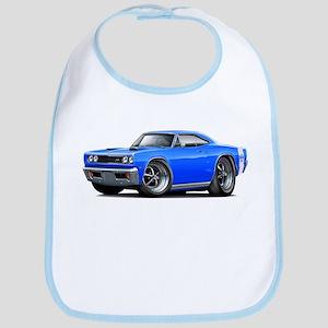 1969 Super Bee Blue Car Bib