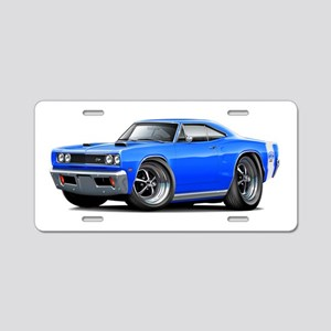 1969 Super Bee Blue Car Aluminum License Plate