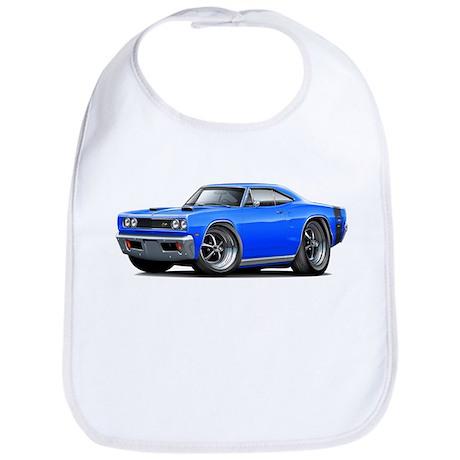 1969 Super Bee Blue-Black Car Bib