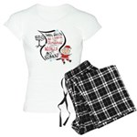Vegan Christmas Wish Women's Light Pajamas