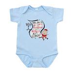 Vegan Christmas Wish Infant Bodysuit