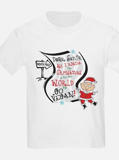 Vegan Christmas Wish T-Shirt