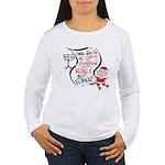 Vegan Christmas Wish Women's Long Sleeve T-Shirt