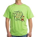 Vegan Christmas Wish Green T-Shirt