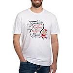 Vegan Christmas Wish Fitted T-Shirt