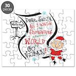 Vegan Christmas Wish Puzzle