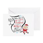Vegan Christmas Wish Greeting Cards (Pk of 20)