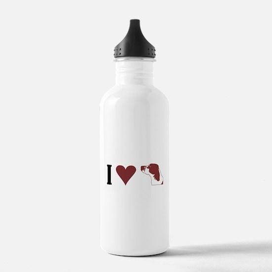 I Heart IRWS Water Bottle