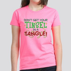 TINSEL IN A TANGLE Women's Classic T-Shirt
