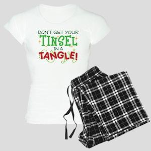 TINSEL IN A TANGLE Women's Light Pajamas