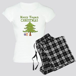Merry Vegan Christmas Women's Light Pajamas