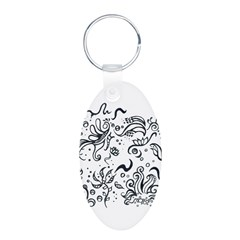Decorative Tribal Design Keychains
