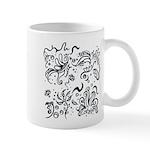 Decorative Tribal Design Mug