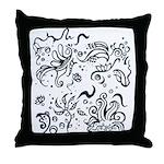 Decorative Tribal Design Throw Pillow