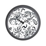 Decorative Tribal Design Wall Clock