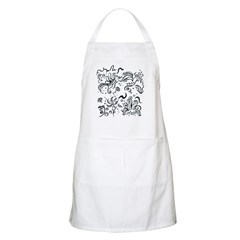 Decorative Tribal Design Apron