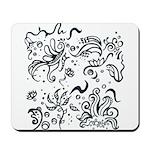 Decorative Tribal Design Mousepad