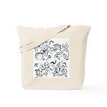 Decorative Tribal Design Tote Bag
