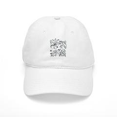 Decorative Tribal Design Baseball Cap