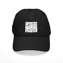 Decorative Tribal Design Baseball Hat