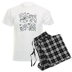 Decorative Tribal Design Pajamas