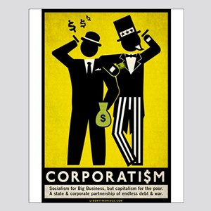Corporatism Small Poster