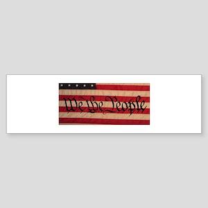 WE THE PEOPLE III Sticker (Bumper)