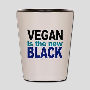 Vegan the New Black Shot Glass